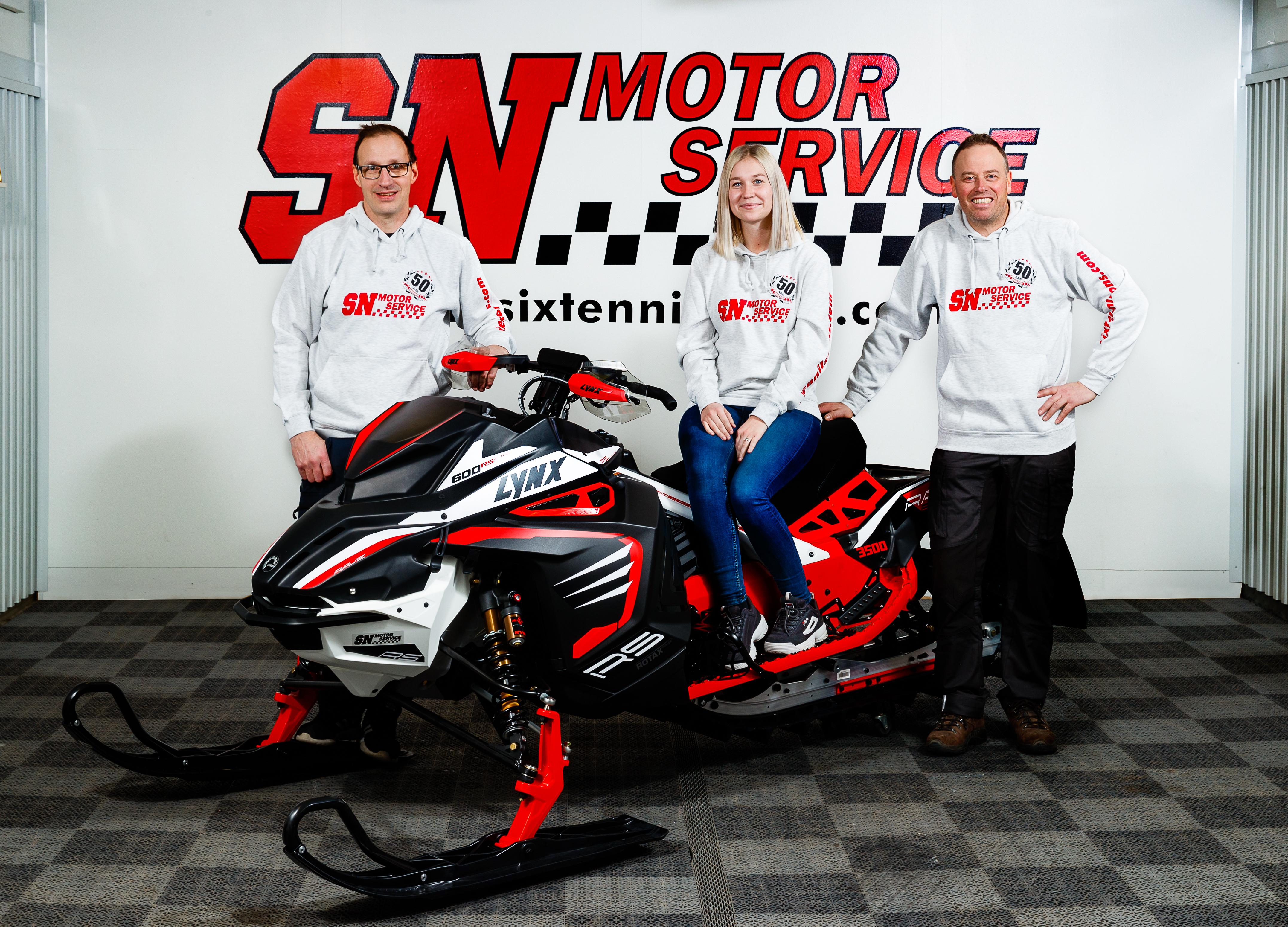 Sixten Nilssons Motorservice, Lena & Kennth Palmér